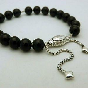 David Yurman Onyx Bead Bracelet